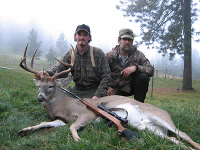 Whitetail deer hunting outfitter  in Idaho